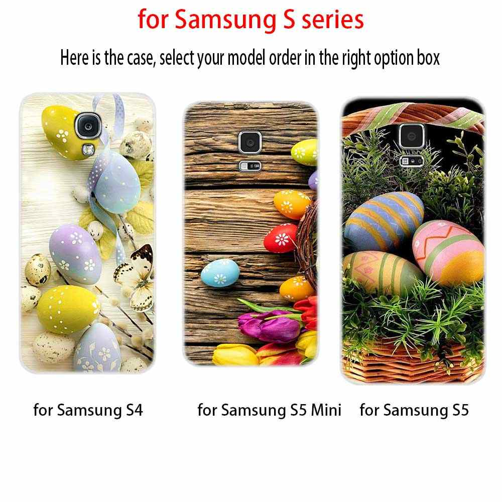 BASEUS เคสใสสำหรับ Samsung S6 S7 EDGE S8 S9 S10 S11 PLUS Fundas Coque ซิลิโคนปกหลังหมายเหตุ 8 9 10 Pro อีสเตอร์ไข่
