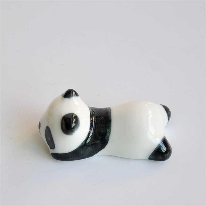 Panda Carino Decorazioni In Ceramica Bacchette Del Fumetto Bacchette Titolare Bacchette Cremagliera Zerbino Bacchette di Moda di Cura di Cucina Forniture Stoviglie