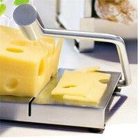 แนะนำตัดชีสเนยคณะกรรมการตัดสแตนเลสลวดทำขนมใบมีดทนทานครัวทำอาหารเบเกอรี่เครื่องมื