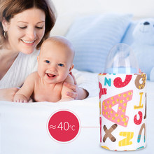 Baby Bottle Heater USB Portable Travel Milk Warmer Infant Feeding Bottle Heated Cover Thermostat Insulation Food Heater(China)