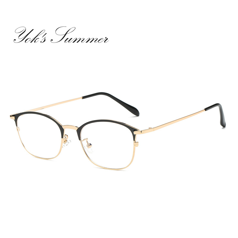 Yok летние Анти Blue Ray компьютер игровой очки Для женщин Для мужчин Винтаж прямоугольн ...