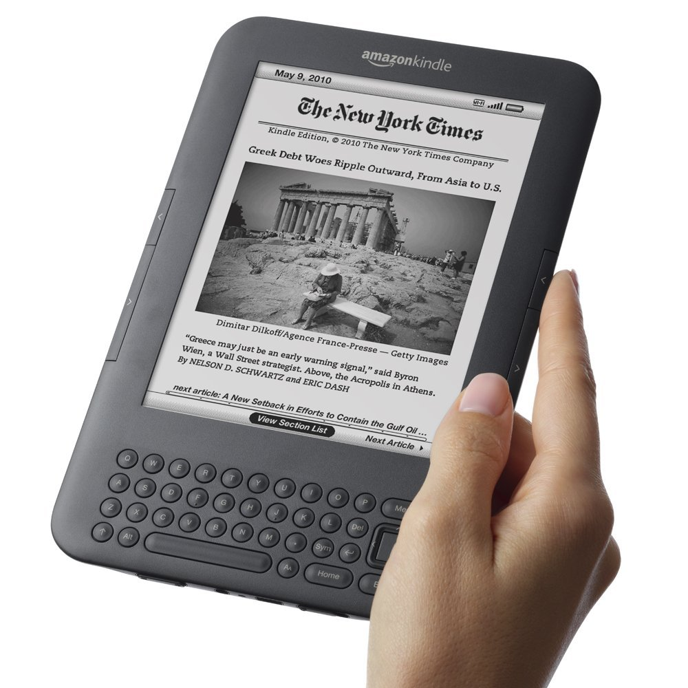 Kindle 3 Eink Ebook Reader Keyboard Ink Screen 4gb E Book Pdf Epub With