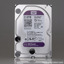 WD Purple three.5-inch SATA 2TB hdd onerous disk constructed for 24/7 always-on surveillance used as storage in safety methods