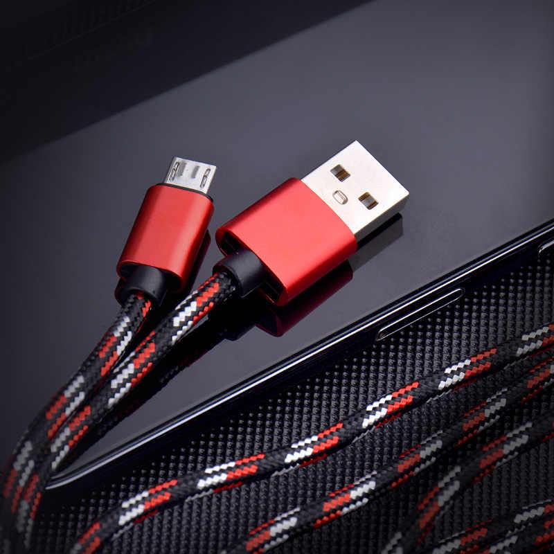 أحدث 2A المصغّر USB كابل سريعة تهمة USB كابل بيانات ل شاحن هاتف محمول يعمل بنظام تشغيل أندرويد USB وصلة شحن لأجهزة سامسونج Xiaomi هواوي