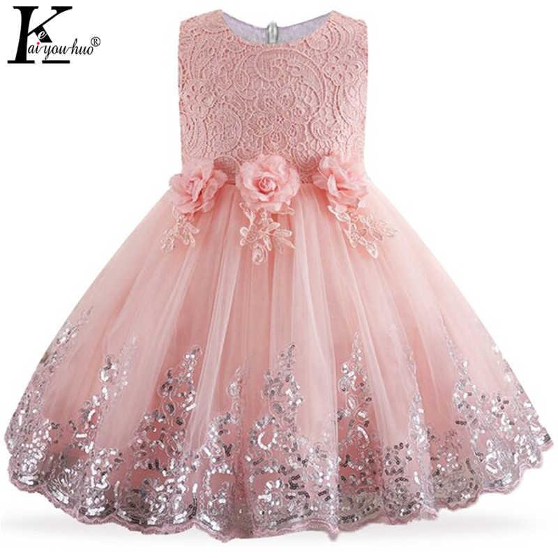 80964249583b465 Свадебное платье, детская одежда, Летние Детские платья для девочек, платье  принцессы, vestidos