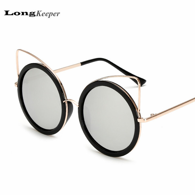 new sunglasses design  Aliexpress.com : Buy LongKeeper Round Sunglasses for Women 2017 ...
