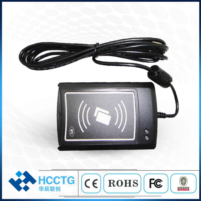 ISO 14443 13.56 MHz RFID Sans Contact lecteur de cartes Écrivain Pour système de contrôle D'accès ACR1281U-C8
