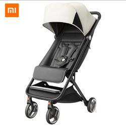 Xiaomi carrito de bebé plegable portátil trolley cochecito en el avión umberlla mini cochecito de bebé liviano plegable