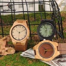 Бобо птица Лидер продаж деревянный Часы Классический бренд Дизайн дерева часы для Для мужчин Для женщин продать