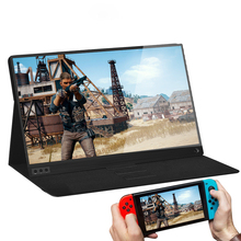 15.6 Inch Super Thin IPS  Screen For PS3 PS4 XBOX Car Use Portable Monitor For PC Laptop 1920 * 1080P HD LCD Screen все цены