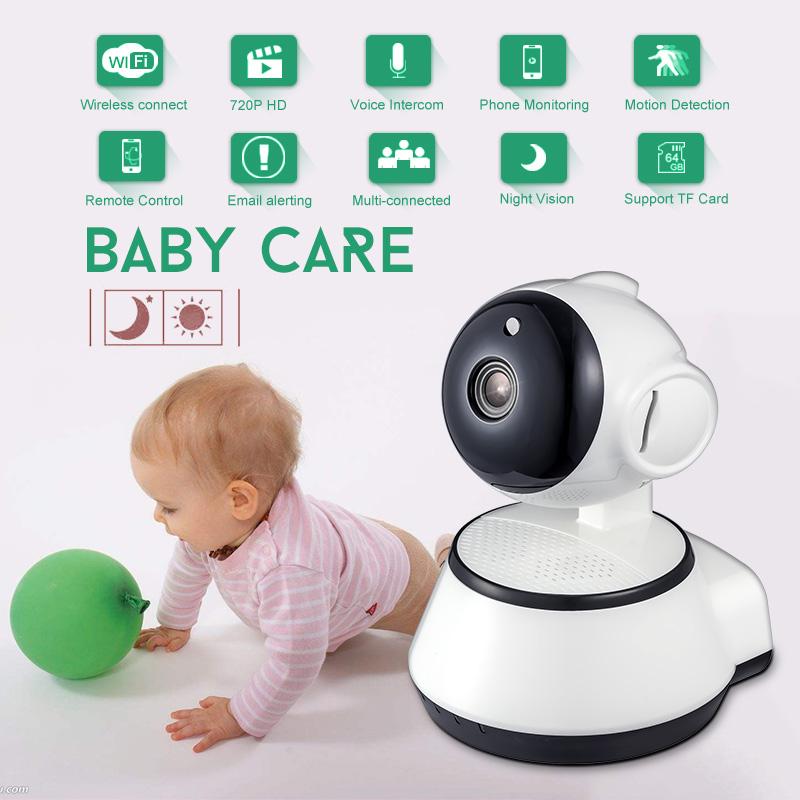 Home Security IP Camera Wireless WiFi Camera Surveillance 720P Night Vision CCTV Baby Monitor ihomecam home security camera ip 720p wireless mini surveillance camera wifi 720p night vision cctv camera baby monitor