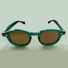 Johnny Depp Glasses Polarized Sun Glasses Men Woman Brand Designer UV400 Driving Shades Acetate Glasses Frame Top quality SQ084 цена и фото