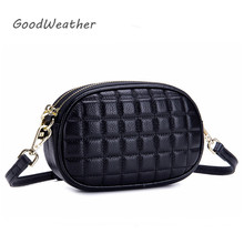купить Fashion women bag small designer high quality soft genuine leather hand bags ladies luxury black plaid cross body bags for woman недорого
