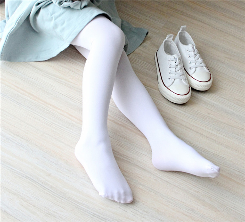 PaMaBa 15Colors Professional 80D Baby Girls Ballet Stockings Soft Spandex Kids Dance Tights Slim Gymnastic Pantyhose Yoga Outfit