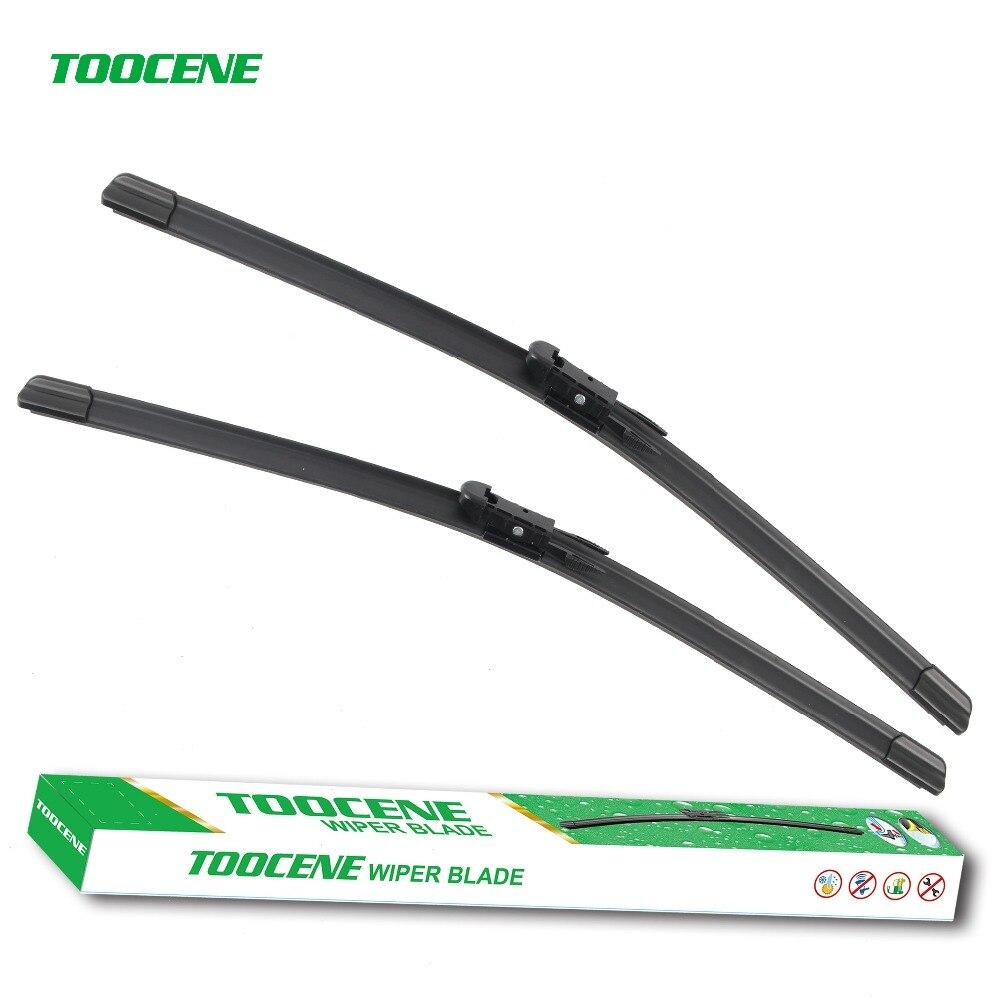 Toocene Windshield Wiper Blades For Cadillac Escalade ESV 2005-2011 pair22+22 Natural rubber windscreen wiper Car Accessories