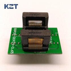 SSOP28 Adapter gniazdo programowania TSSOP28 gniazdo testowe ic programista OTS 28 0.65 01 ssop8ssop14ssop16ssop20ssop24 w Złącza od Lampy i oświetlenie na