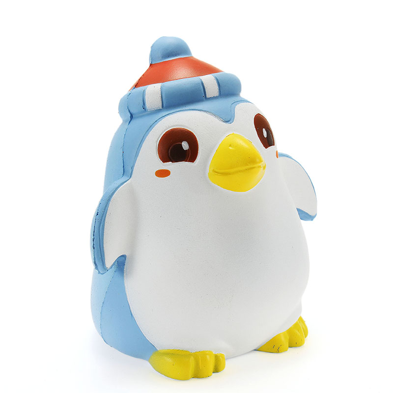 Best Deal Xinda Kawaii Soft Penguin 12cm Slow Rising With Packaging Cute Animals Collection Gift Decor Soft Toy Phone Straps