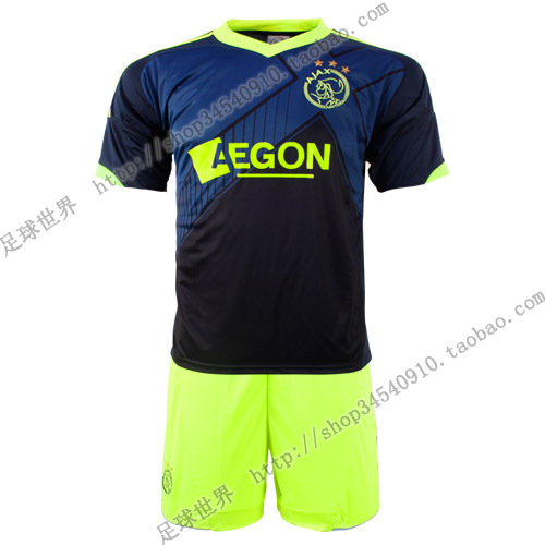 (Free shipping)2012 - 13 ajax soccer jersey sportswear training service printing