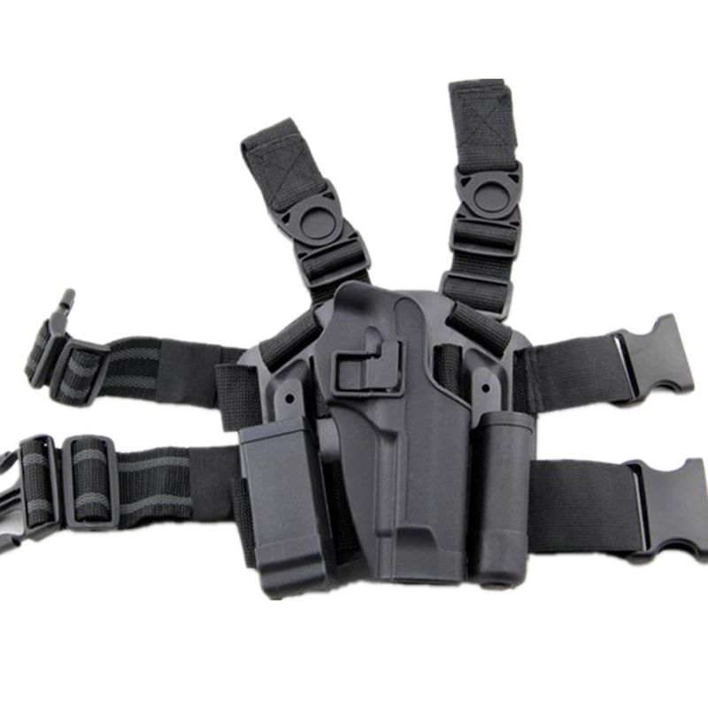 Beretta 92/96 Tactical Pistol Holster Hunting Airsoft Thigh Leg Holster Right Hand Gun Case Army Military Shooting Gun Holster