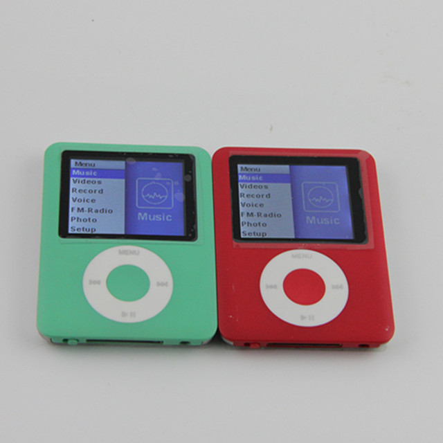 New 3th Gen 32GB 1.8 Inch Screen Mp4 Player  FM Radio Voice Recorder Ebook  Function Music Player +Earphone +USB Cable
