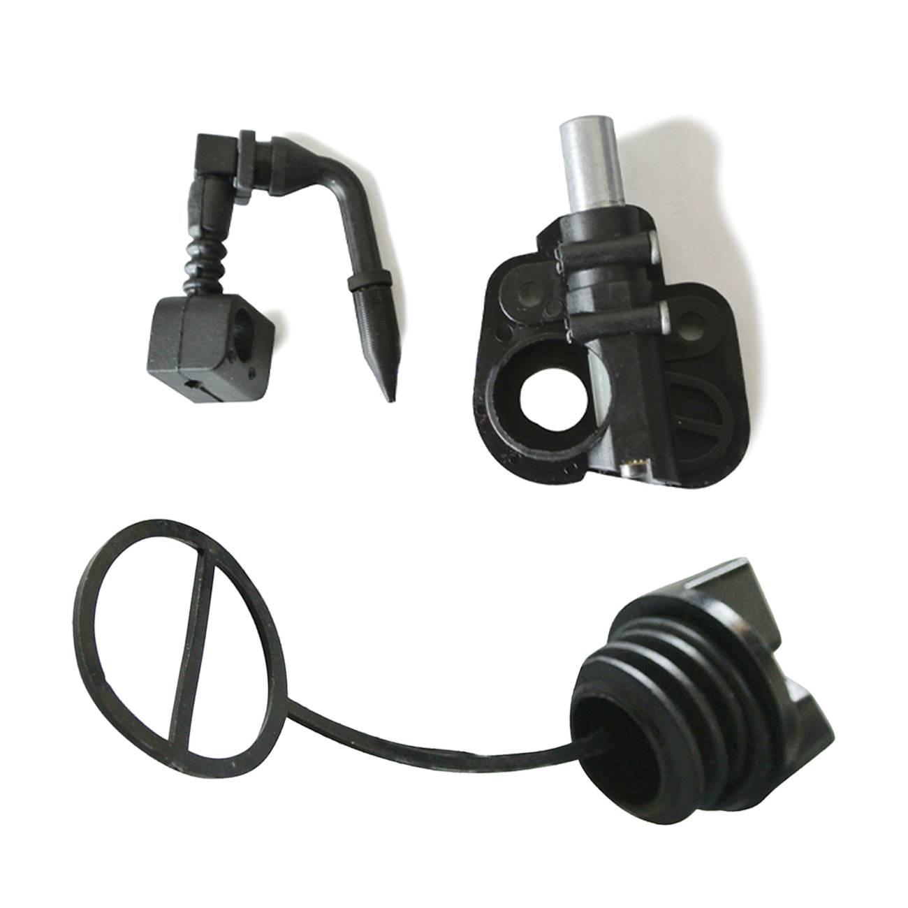 Oil Pump & Oil Filler Cap Kit Fit PARTNER 350 351 352 370 371 Chainsaw