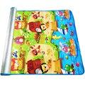 180*120*0.3 cm Bebé Gateando Juego Puzzle Mat, Alfombra Niños Chico Juguete Juego De Gimnasio Actividad En Desarrollo alfombra de Espuma Eva Exterior Suelo Blando