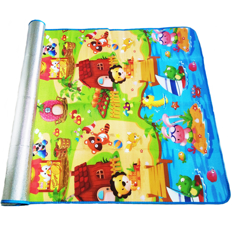 180*120*0.3cm Baby Crawling Play Puzzle Mat,Children