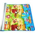 180*120*0.3cm Baby Crawling Play Puzzle Mat,Children Carpet Toy Kid Game Activity Gym Developing Rug Outdoor Eva Foam Soft Floor