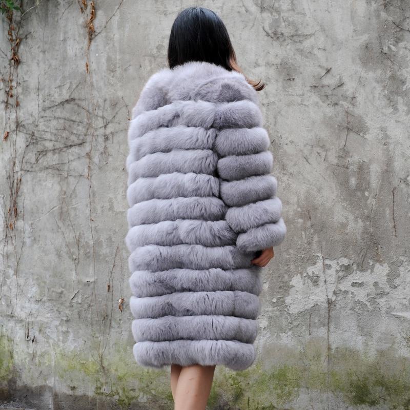 Renard Cx Fourrure D'hiver De Manteau a g Chaud Les Survêtement 15 Femmes Veste Réel Pour rrTY8qw