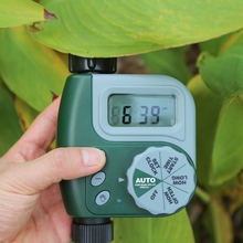 ABS Garden,Yard, Greenhouse Automatic irrigate Appliance, Single Outlet Programmable Hose Tap Faucet Timer Watering Tool.