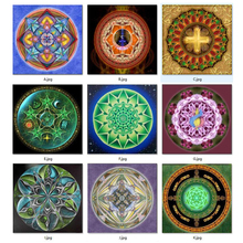5D Full Diamond Mosaic Needlework Diy Painting Kit Cross Stitch Embroidery Universe Meditation Mandala Fantasia