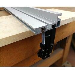 2 szt. Zaciski G do standardowych aluminiowych prowadnic T 45mm do obróbki drewna