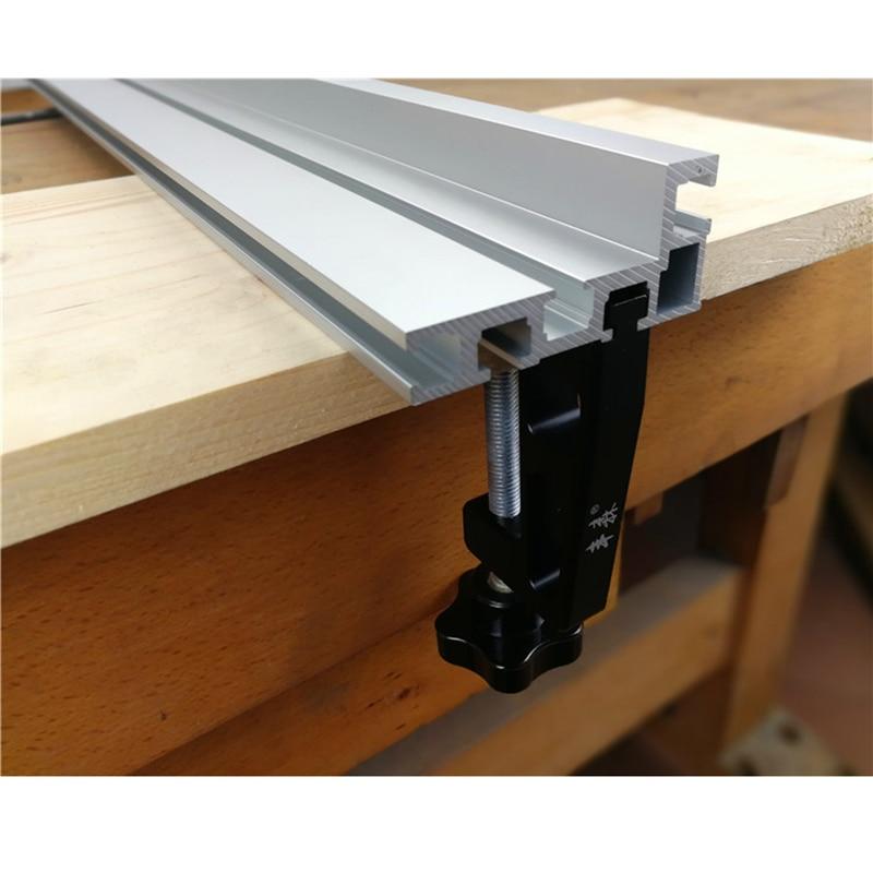 2pcs G Clamps for Standard Aluminium T-track 45mm Woodworking Tools