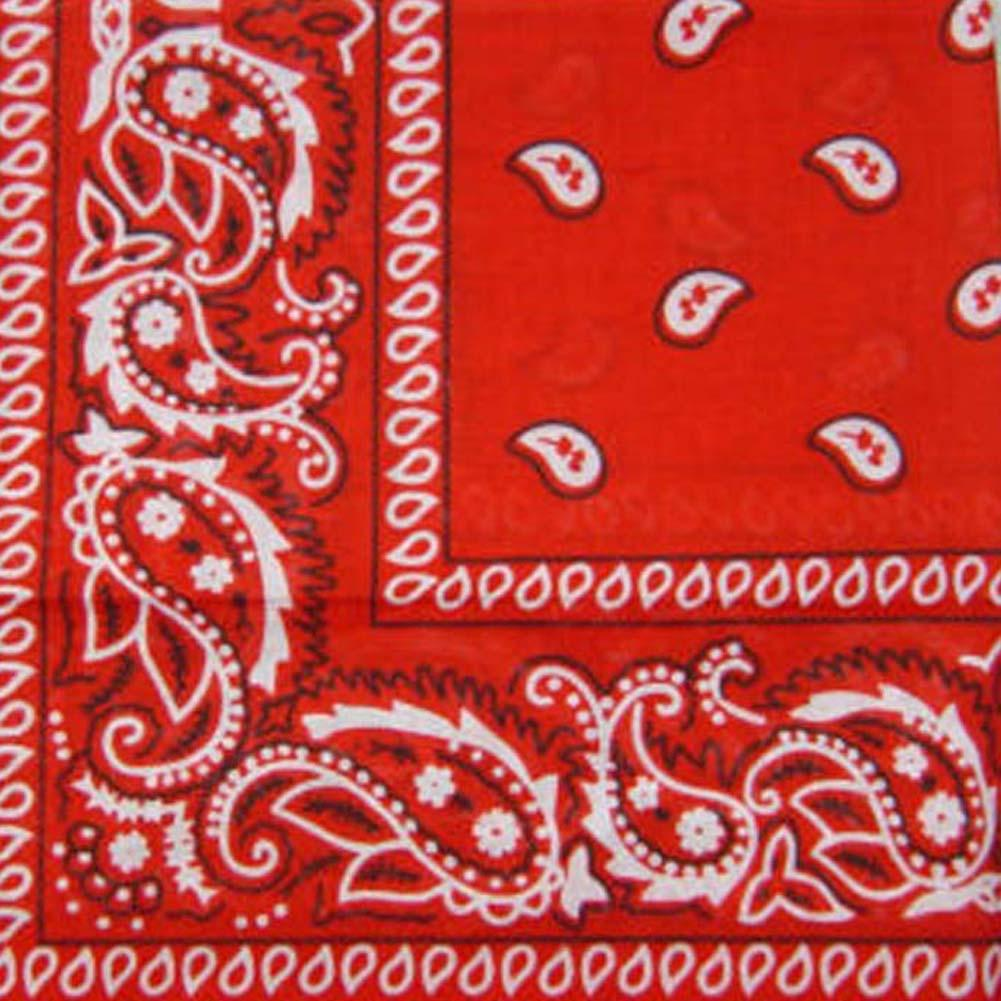 Neck Wrap Cotton Paisley Bandana Head Band Scarf Hat Neckerchief Handkerchief