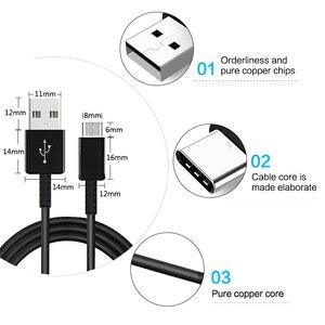 Image 2 - Vothoon USB סוג C כבל לסמסונג גלקסי S10 בתוספת S10e S8 S9 בתוספת מהיר טעינת USB סוג C 1.2m כבל
