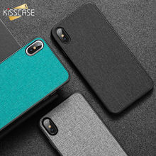 KISSCASE Fabric PU Leather Case For Huawei Mate 20 P20 p30 Lite Pro P Smart Plus Retro Phone Case On For Honor 10 Lite 8X Covers(China)