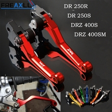 For Suzuki DRZ400S DRZ400SM DR250R DR250S DR CNC Motorcycle Accessories Hanlde Pit Dirt Bike Pivot Moto Brake Clutch Levers