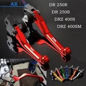 Para Suzuki DRZ400S DRZ400SM DR250R DR250S DR CNC accesorios de motocicleta Hanlde Pit Dirt Bike Pivot Moto freno embrague palancas