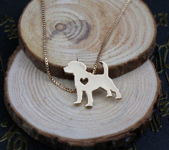 Фото ожерелье с изображением собаки бигля украшение золотым покрытием цена
