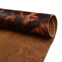 Passion Junetree LEATHER HIDES COW SKINS Brown Thick Genuine Leather About 1 6 To 1 8