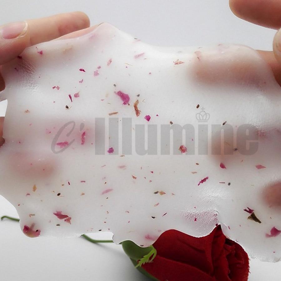 Rose Petals Crystal Modeling Peel Off Mask Powder Soft Film Powder Beauty Salon Rose Mask Powder Moisturizing