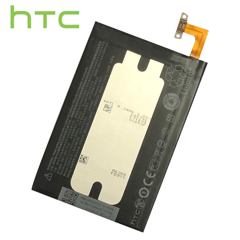 Original 2600mAh BOP6B100 Battery For HTC One 2 M8 W8 E8 Dual Sim M8T M8W M8D M8x M8e M8s M8si One2 One+ Cell Phone Battery