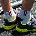 Hot 2017 Primavera Meias Outono Homem Marca Clássico dos homens de Todos Os Jogo 100% Algodão Meias Masculino Business Casual elasticidade sock