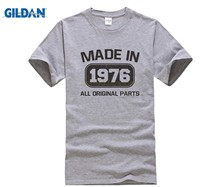 Fashion Men T Shirt Free Shipping Made In 1976 41st Birthday Gift Dad Uncle Bday Present 70s 80s 76 Mens Tee