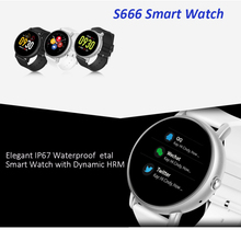 DW-Wogesup S666 Fitness Tracker Smart Bracelet Heart Rate Blood Pressure Band Sports Waterproof Watch For IOS/Android