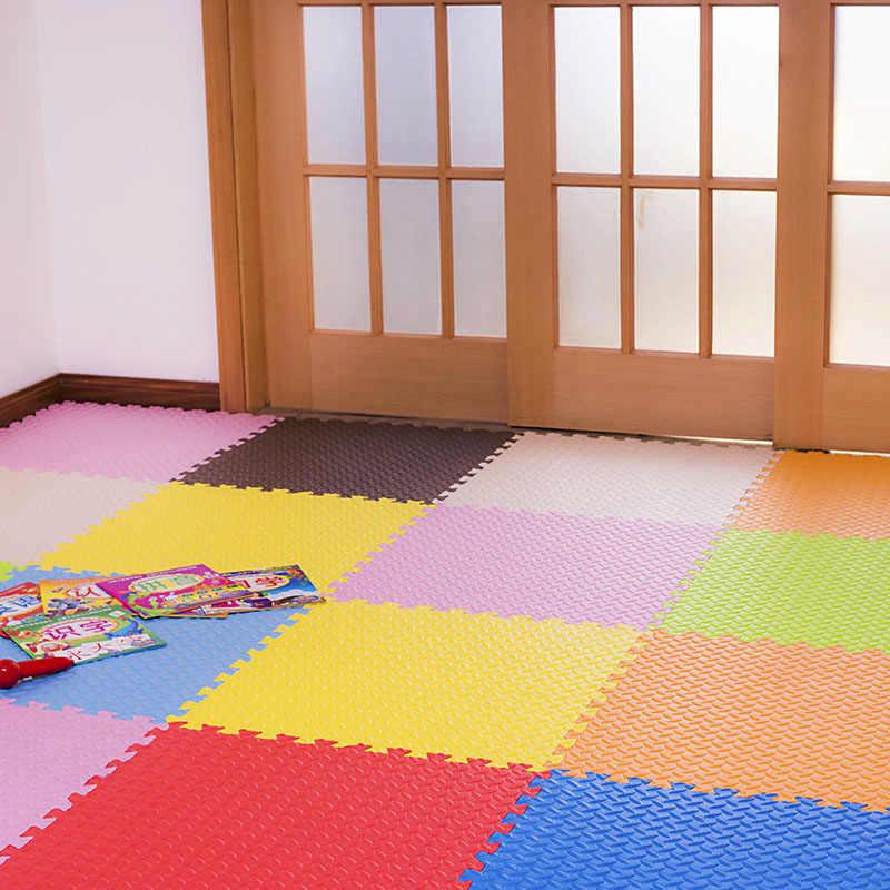 JCC для детей, eva пенопластовый игровой коврик для детей/блокировка плитки для упражнений напольный коврик ковер, 6 шт. в сумке, каждый: 60x60 см толщиной 1,2 см