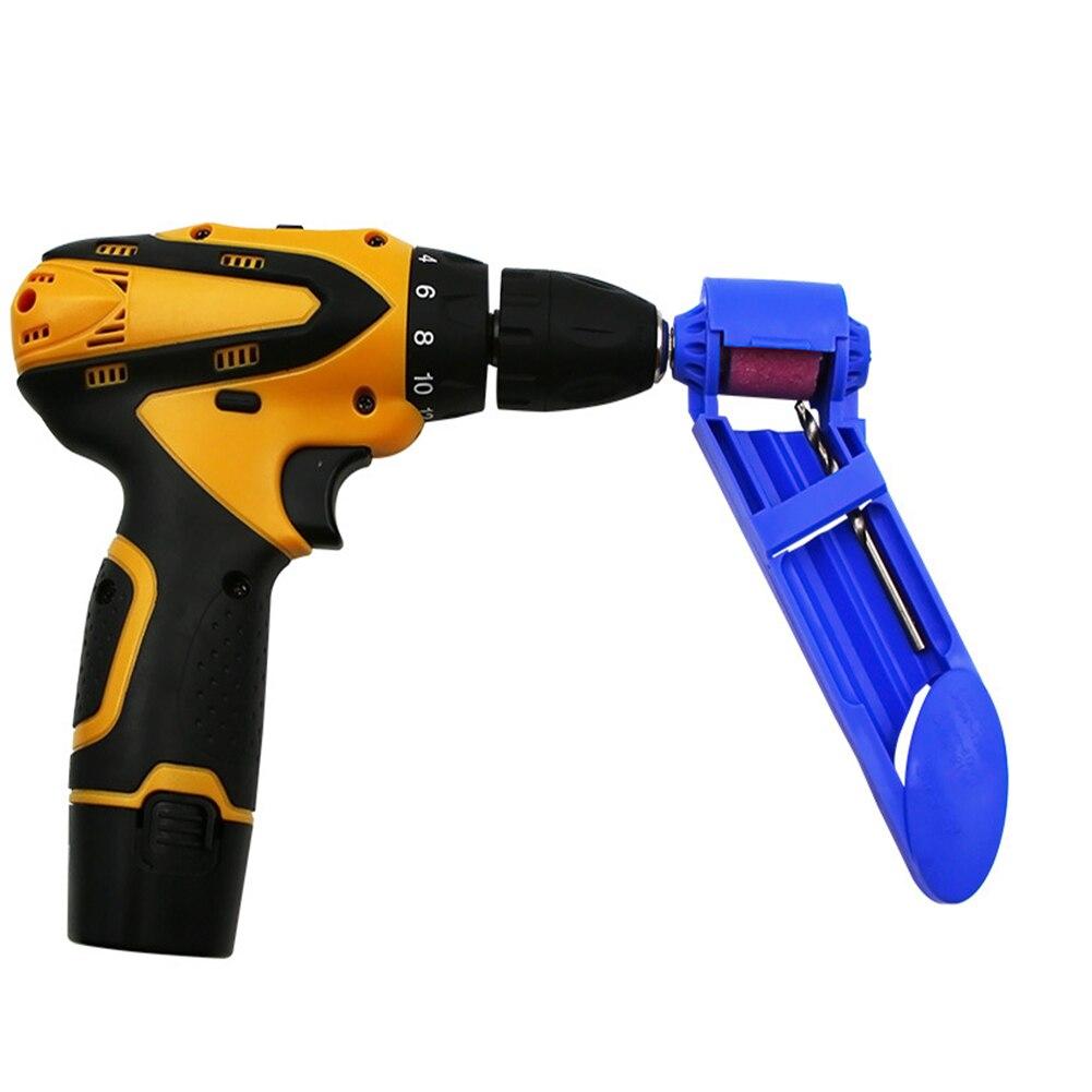 Orange Outil auxiliaire daff/ûteur de polissage de meule de meulage portatif pour le polissage de foret de 2-12,5 mm avec cl/é et meule