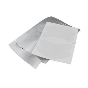 Image 3 - 100 paires/paquet de 50 coussinets pour les yeux Super minces Patch pour les yeux Hydrogel coussinets pour les cils hyaluronique collagène patchs en Gel non pelucheux pas sensible