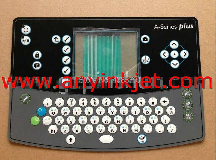 New Original Domino keyboard Domino inkjet keyboard display for Domino Da1-0160400sp A series printer