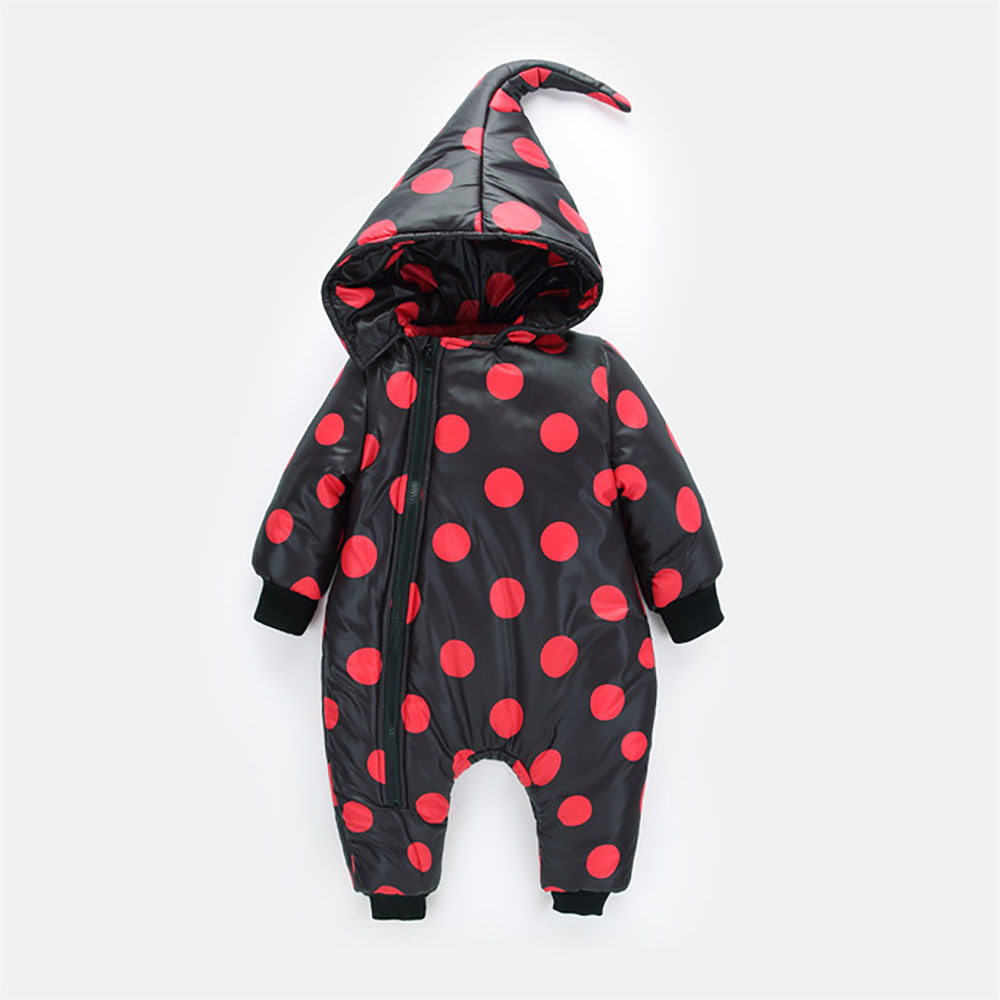 NEW 1-3 Years Child Whter Coat Infant Baby Christmas hat Winter Romper Snowsuit Toddler Baby Boy Girls Jumpsuit Bodysuit 1707 0 2 years infant baby winter coat snowsuit duck down jumpsuit bodysuit suit toddler boy girls clothes winter kids romper 1820